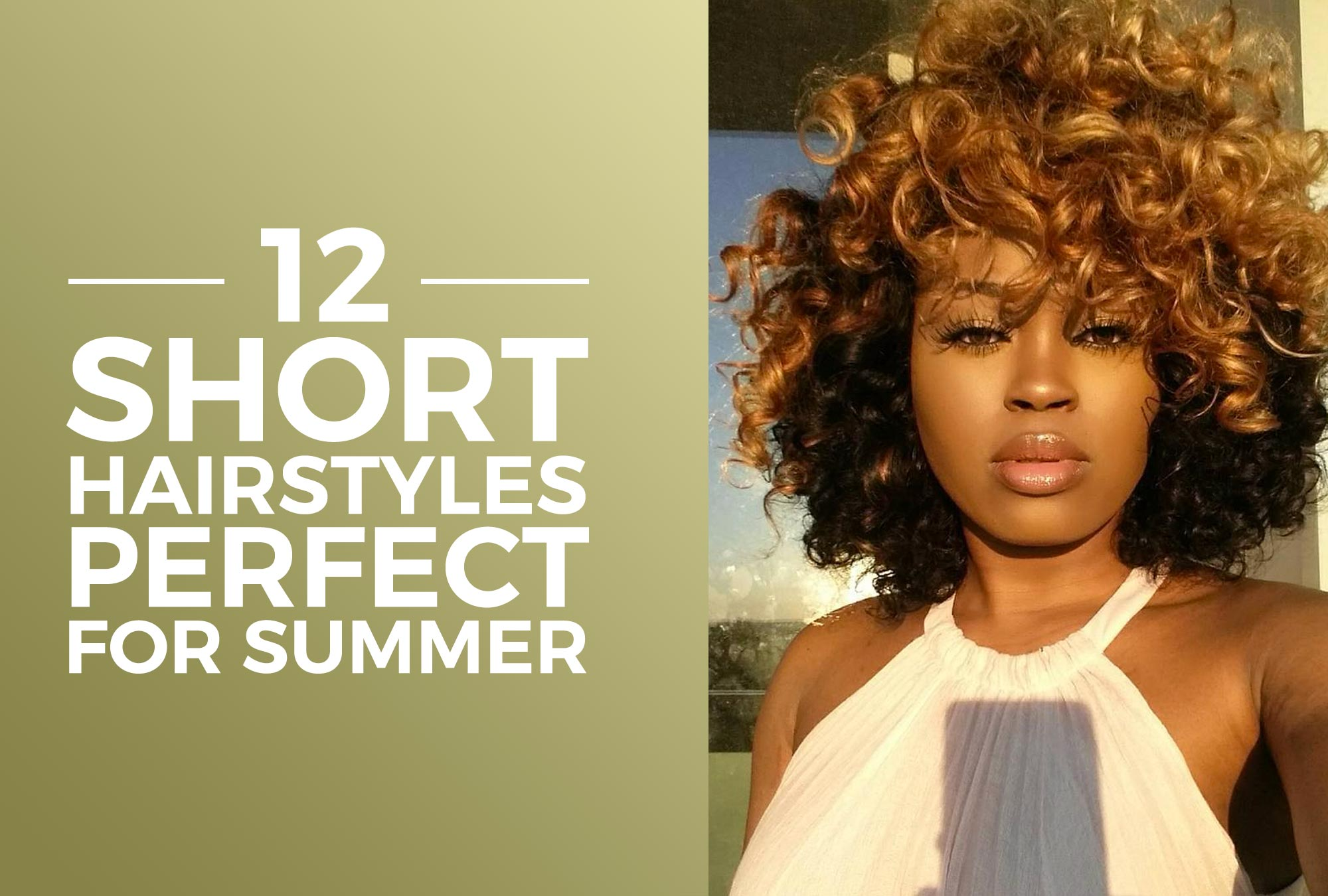 12 Short Hairstyles Perfect For Summer