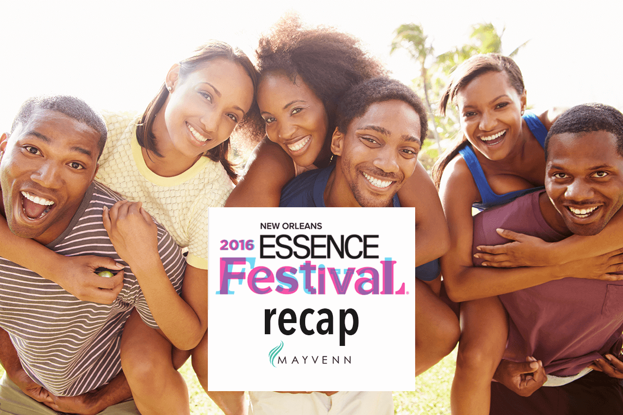 Mayvenn Making Moves | ESSENCE Fest Recap