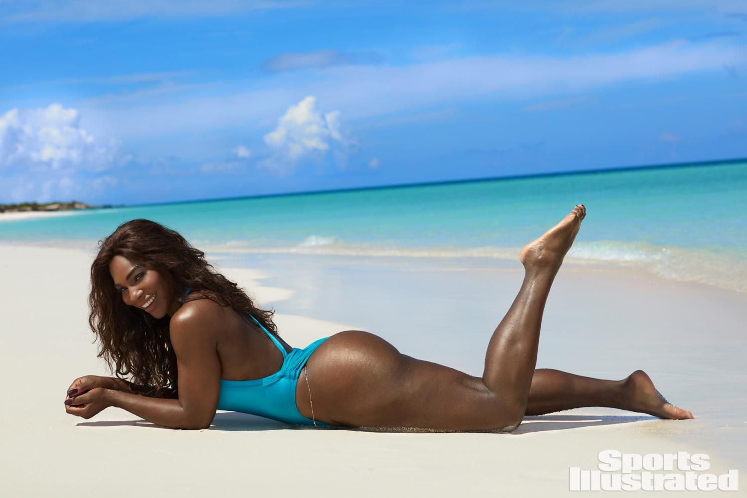 Get The Look: Serena Williams' Sexy Sports Illustrated Beach Waves