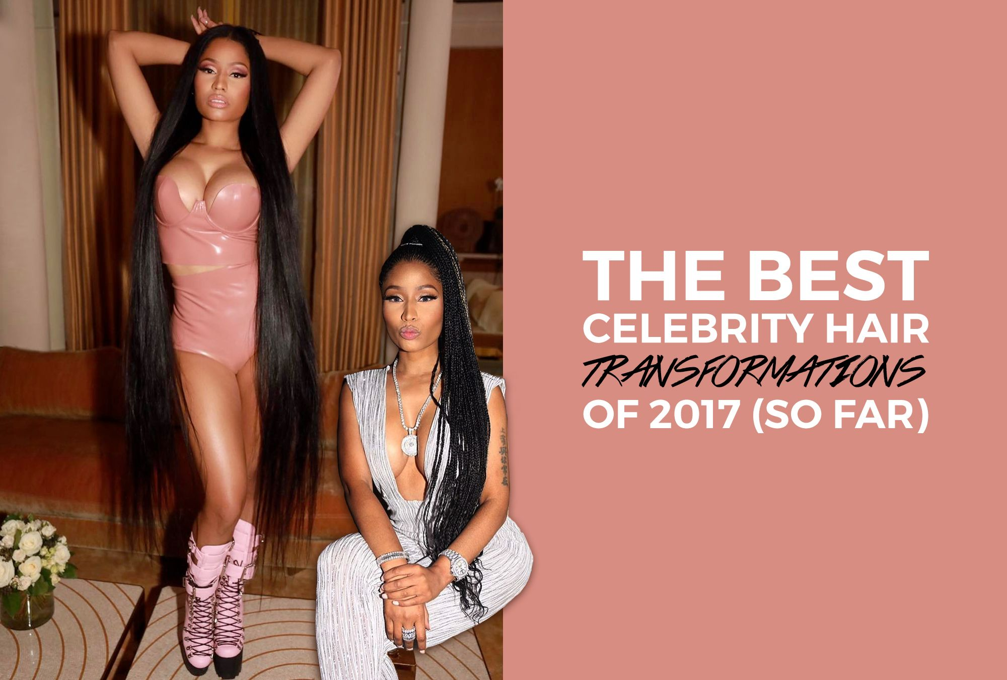 The Best Celebrity Hair Transformations of 2017 (So Far)