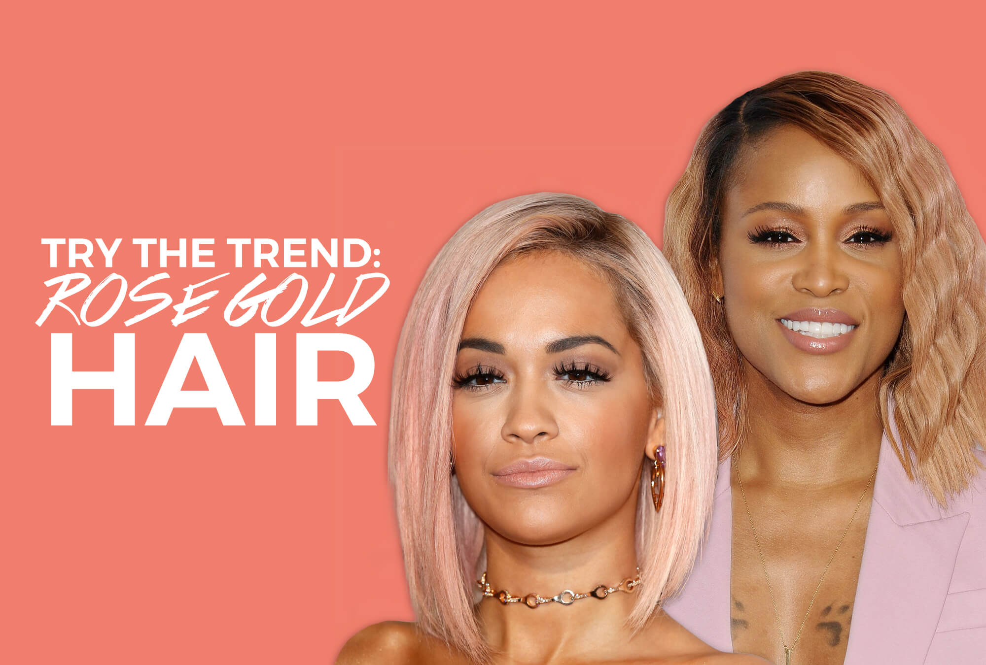 Trend To Try: Rose Gold Is Your Next Summer Hair Color