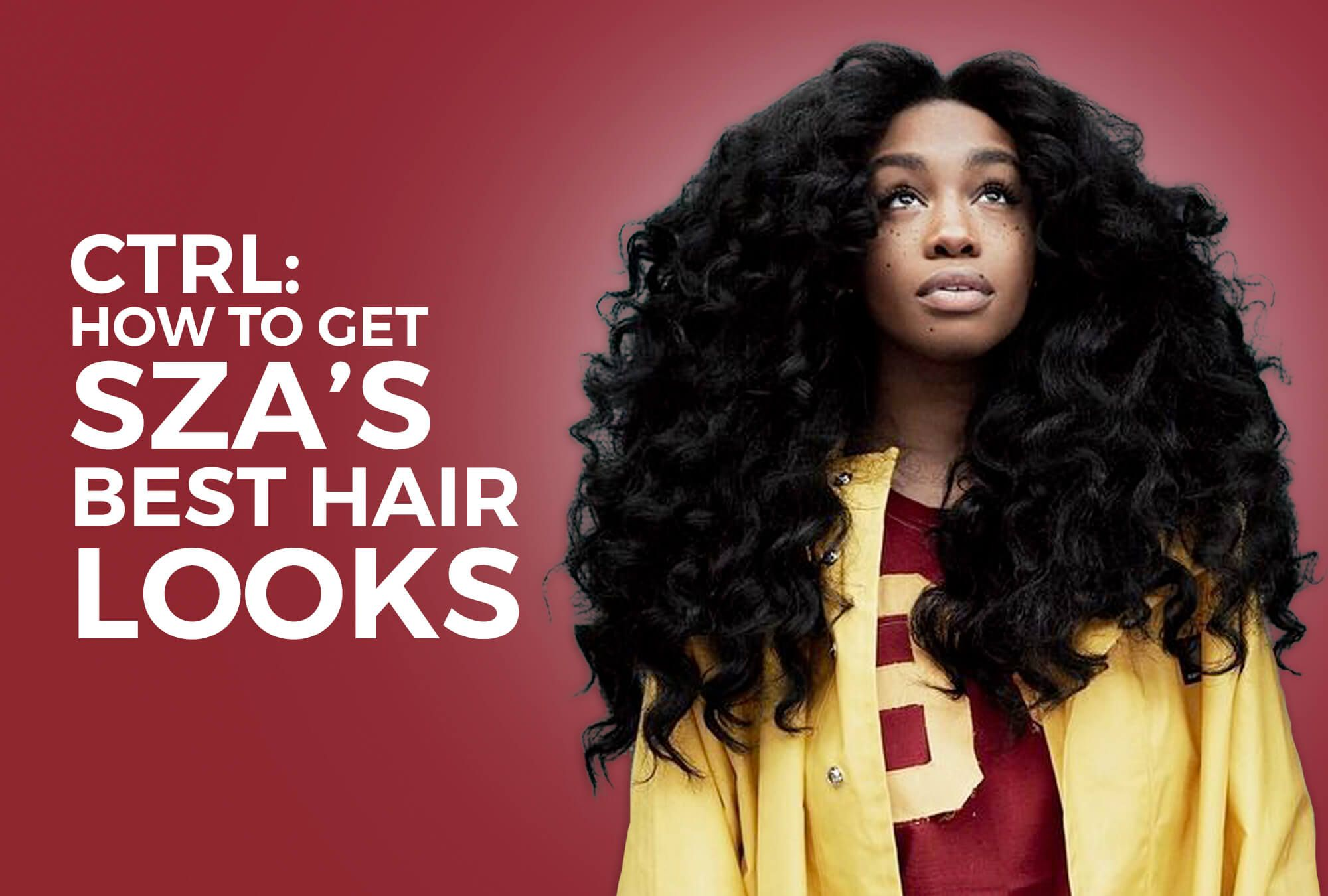 Sza S Best Hair Looks And How To Get Them