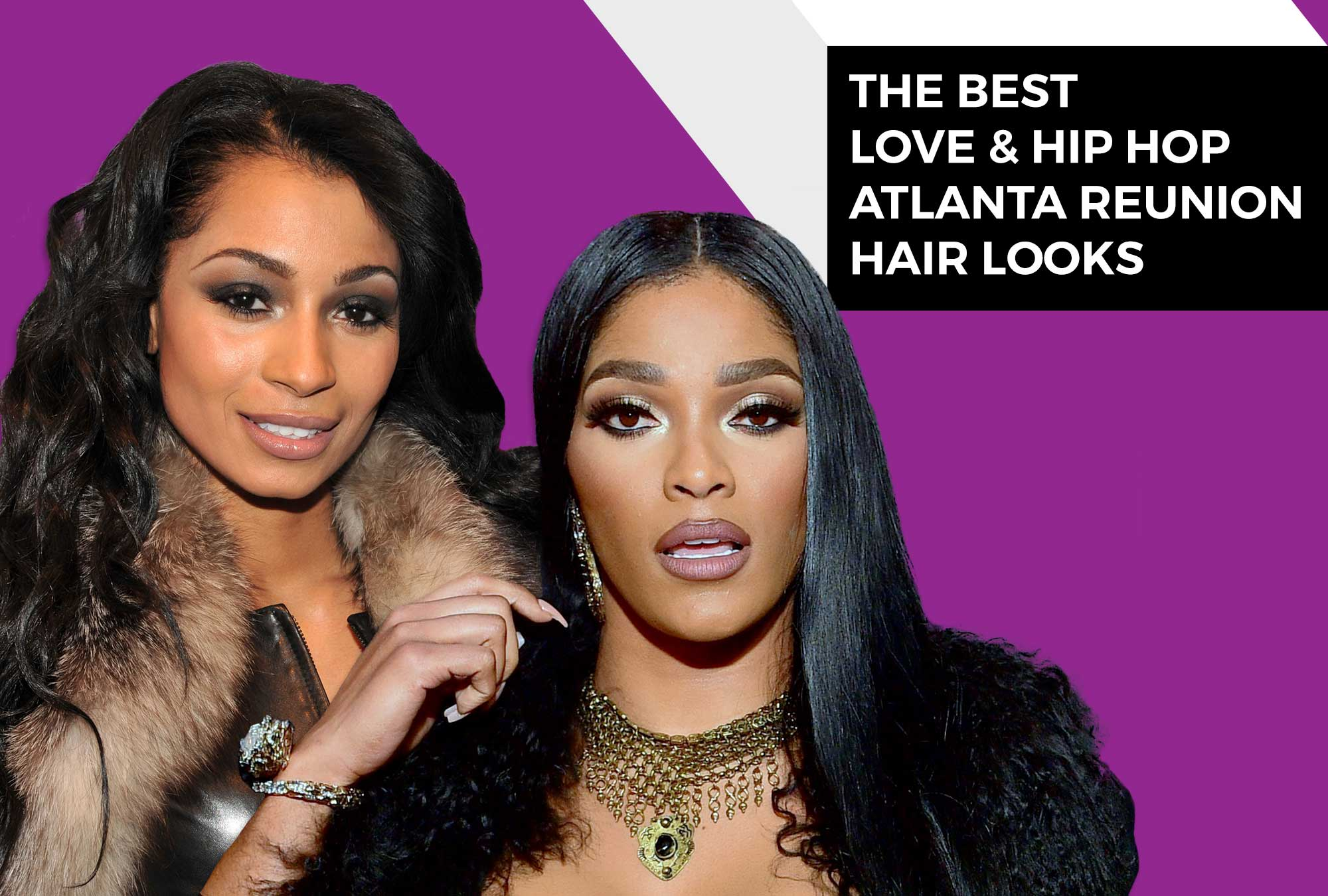 They Came To Slay: The Best Love & Hip Hop Atlanta Reunion Hairstyles