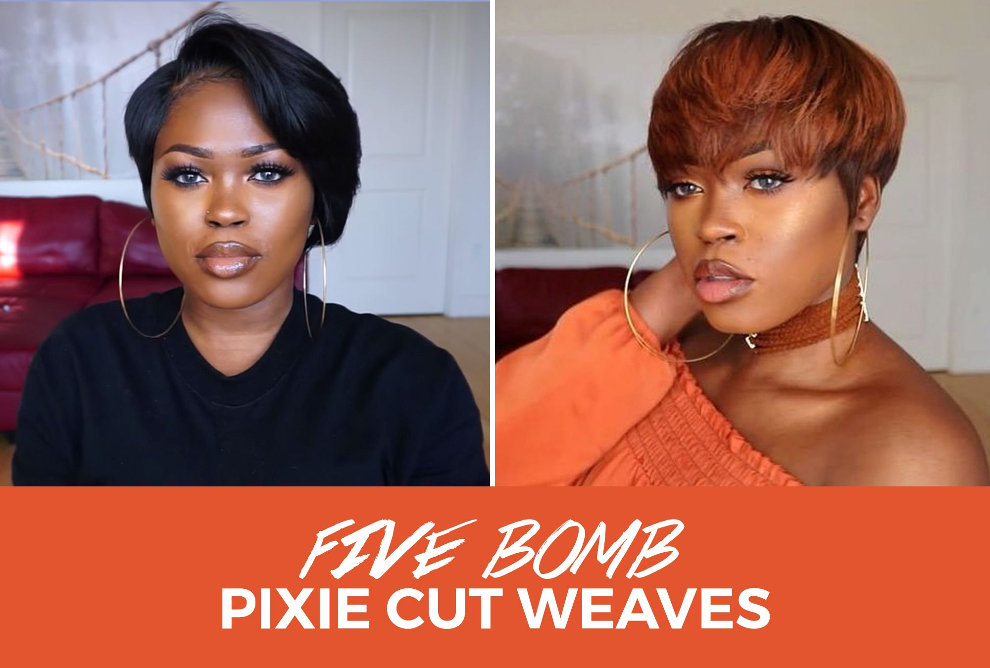 The Switch Up: 5 Bomb Pixie Cut Weaves