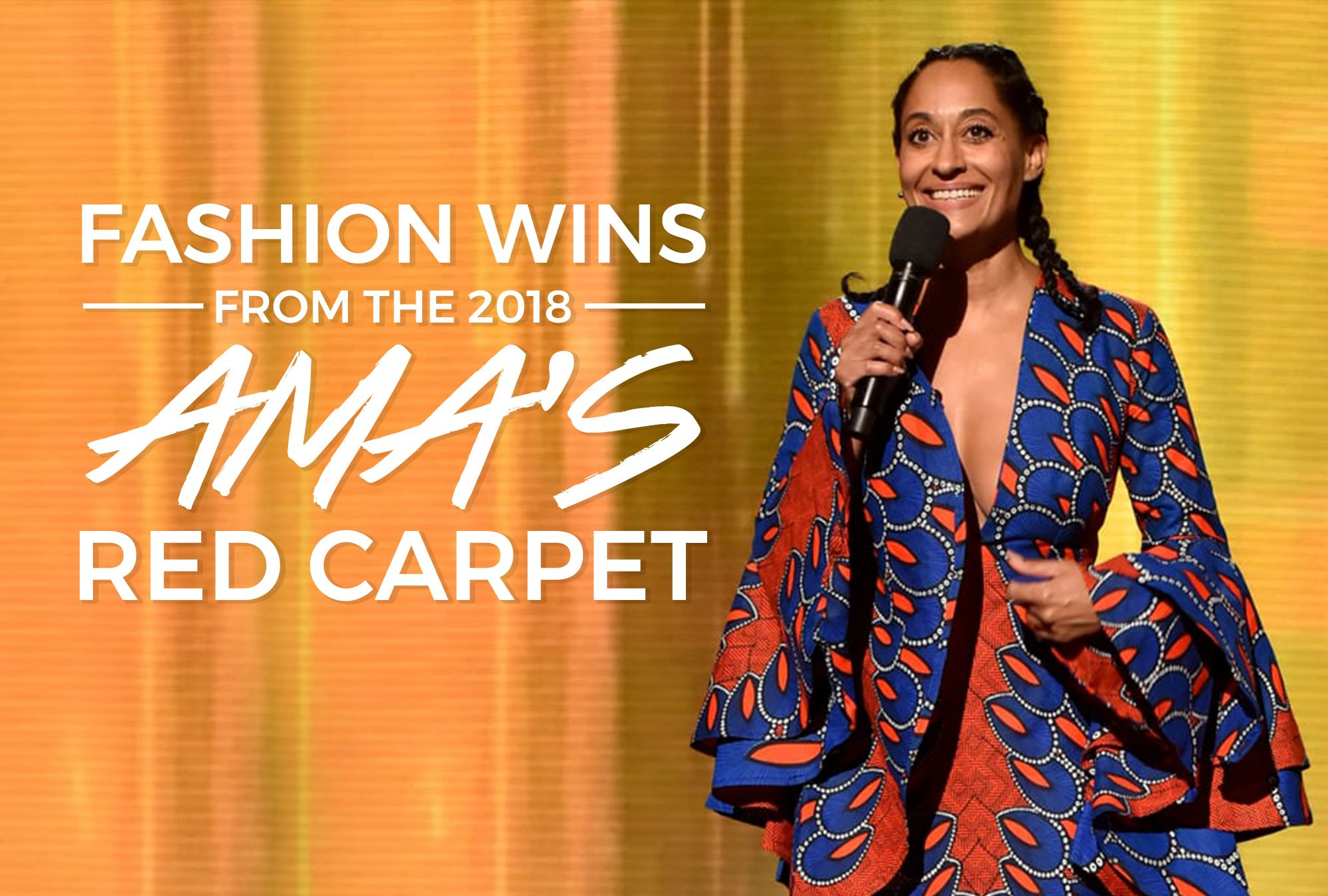 Fashion Wins from The 2018 AMA's Red Carpet