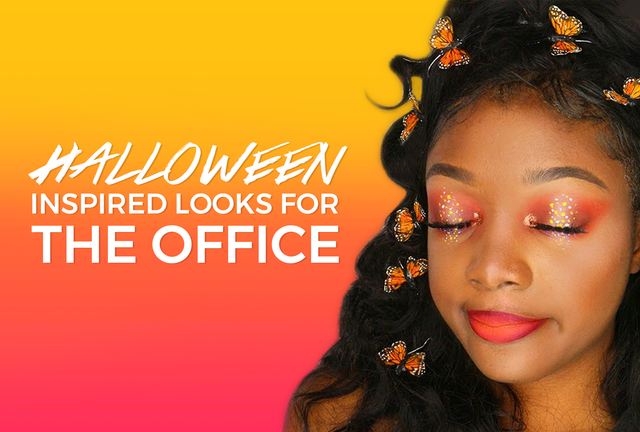 Halloween Inspired Hair, Makeup & Accessories That Are Acceptable For The Office