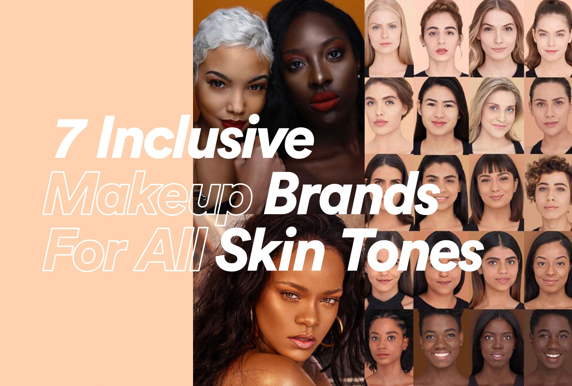 7 Inclusive Makeup Brands With Products