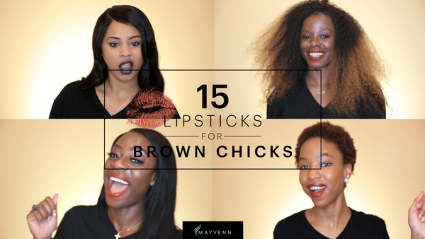 Bright Lipsticks For Brown Chicks #WhatThatSwatchDo | Mayvenn + Cocoa Swatches