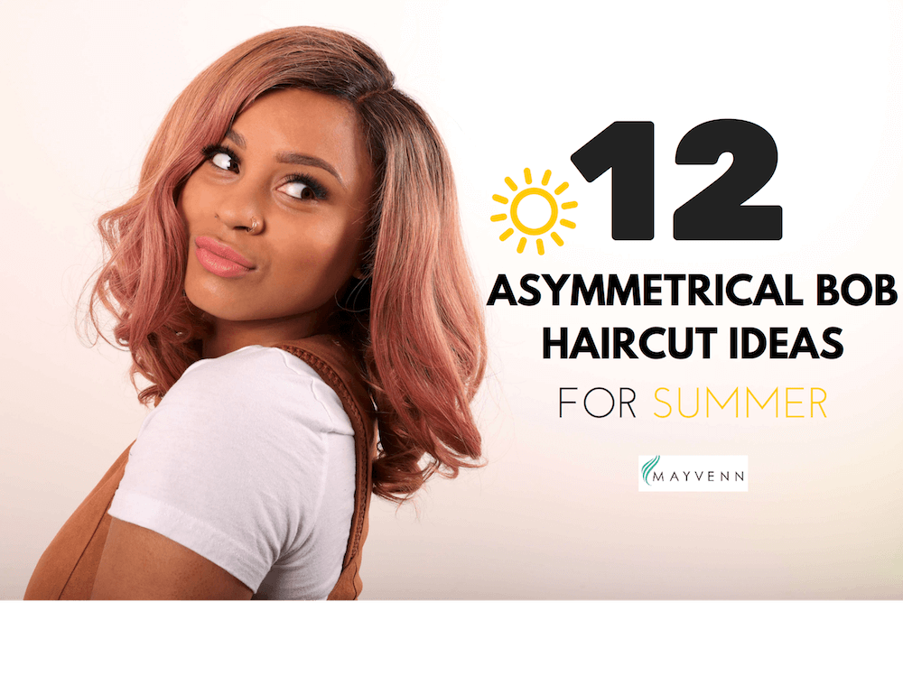 12 Asymmetrical Bob Haircut Ideas For Your Summertime Switch-Up