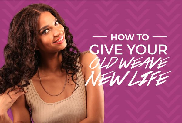 Matted, Tangled, Dry Weave? Bring It Back To Life In Four Easy Steps!