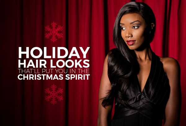 4 Merry Hair Looks That'll Put You In The Christmas Spirit