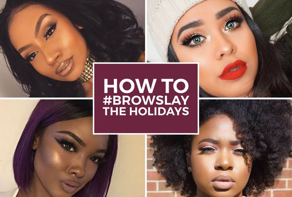 How To #Browslay For The Holidays