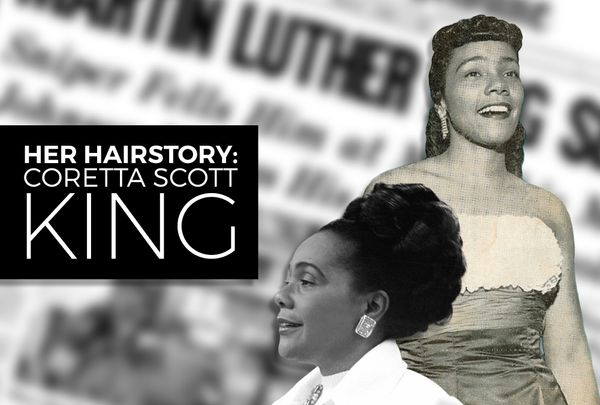 Her Hairstory: Coretta Scott King (1927-2006)