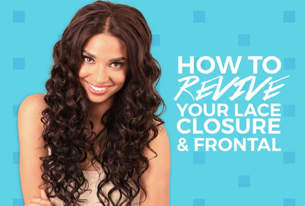 Old, Torn, Over Bleached Lace Closure? Here's How To Fix It!
