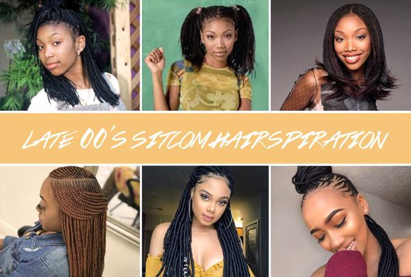 Sitcom Hairspiration: You Wanna Be Down In The 00's