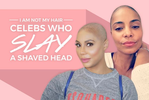 I Am Not My Hair: Celebs Who Slay A Shaved Head