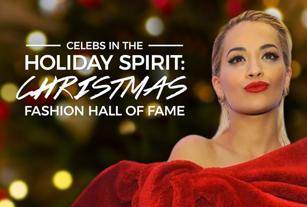 Celebs In the Holiday Spirit: Christmas Fashion Hall of Fame