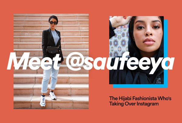 Meet @Saufeeya, the Hijabi Fashionista Who's Taking Over Instagram